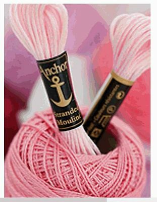 Anchor Embroidery Yarn Thread uni 20 Dock all colours 100% Cotton