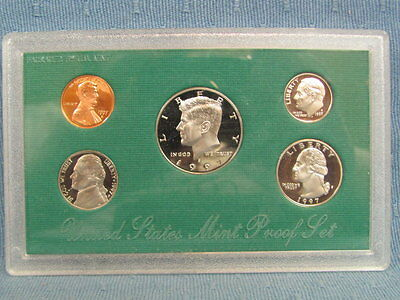 1997 S United States Mint Proof Coin Set – With Certificate of Authenticity