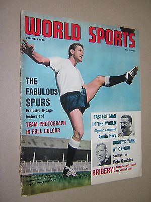 World Sports Magazine. December 1960.