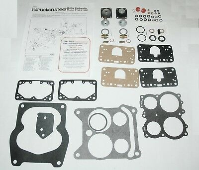 1968-72 BUICK CARB REBUILD KIT HOLLEY LIST 6774 ETHANOL TOLERANT NEW