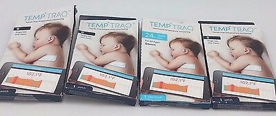 4 X TempTraq Hands Free Temperature Monitoring Single Use 24hr Patch Exp 06/18