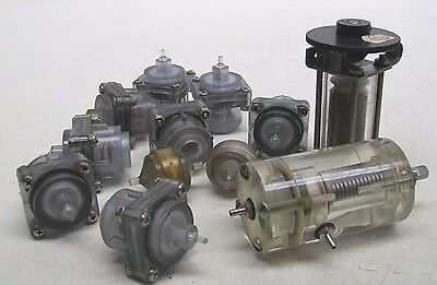 Lot Of 12 Nos Beckman Coulter Misc Pressure Regulator Air Vacuum Free Ship Bm