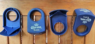 4 - Coronita Clips - Margarita Style Blue + Opener/Key Chain Man Cave Collectors