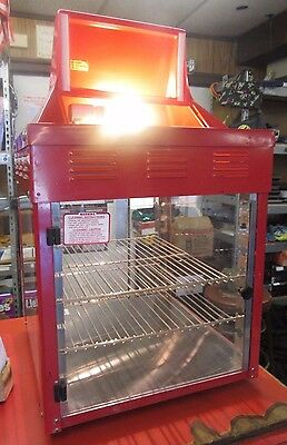Wisco Food 2 SHELF 690-16 2 Door Hot Dog/Pretzel Food Warmer Concession Stand