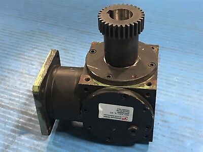 Used Graessner D-72135 Right Angle Hypoid 95 cSt Gearbox 8:1 Ratio (9G)