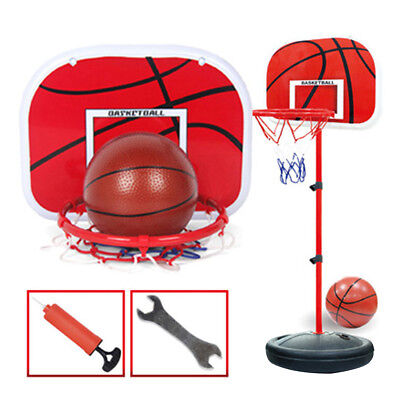 Children 150cm Adjustable Basketball Stand Toy Playset with Installation Wrench