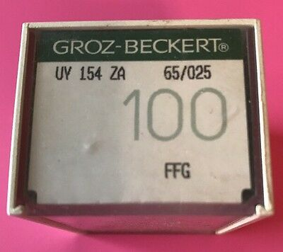 100 Groz-Bekert Needles 154Za 65/025 - Free Shipping