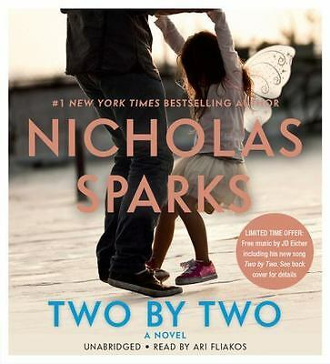 C New Audio Book Two by Two by Nicholas Sparks 2016, CDs, Unabridged Great Story