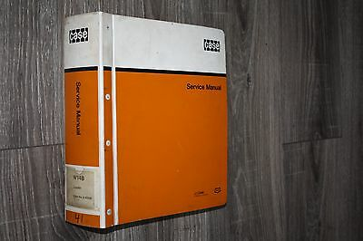 Original Case W14B Service Manual