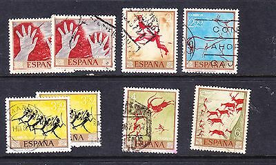 Spain 1967 Cave Paintings Used