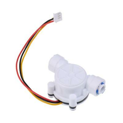 """Water Flow Sensor 1/4"""" Effect Hall Water Control 0.3-10L/min For Arduino"""