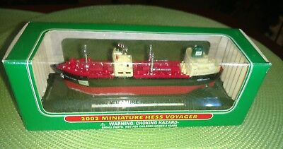 HESS Mini MINIATURE Truck Series ~ 2002 VOYAGER Ship ~ NIB Collectible