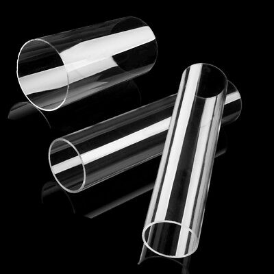 200mm/300mm Lengths Clear Acrylic Tube Pipe  70mm to 100mm Outside Diameters