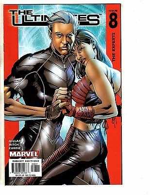 Lot Of 7 The Ultimates Marvel Comic Books # 8 9 10 11 12 13 + Annual # 2 TW61