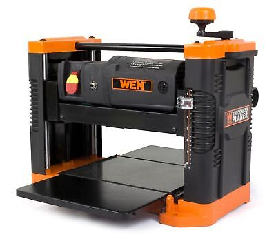 WEN 6550 12.5-Inch 15A Benchtop Thickness Planer with Granite Table New