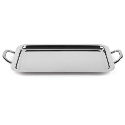 NEW Sambonet Elite Oblong Tray with Handles 47x26cm