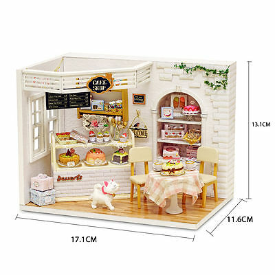 Handmade Wooden Doll House Assemble DIY Doll Houses Miniatura  Dollhouse Toys
