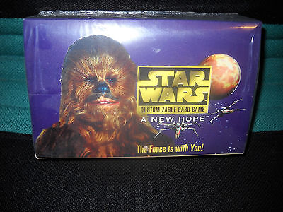 Star Wars A New Hope CCG Booster - Display limited (36 Booster)sealed