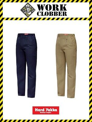 Hard Yakka Cotton Drill Pants Y02501 NEW WITH TAGS!