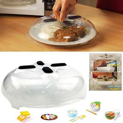 Splatter Guard Magnetic Guard Microwave Hover Anti-Sputtering Cover with Steam