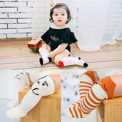 Sweet Baby Infant Children Kids Girls Cotton Knee High Long Socks Leggings