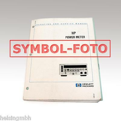 HP 86290A inklusive Optionen, original Manual, Handbuch, Operating and Service