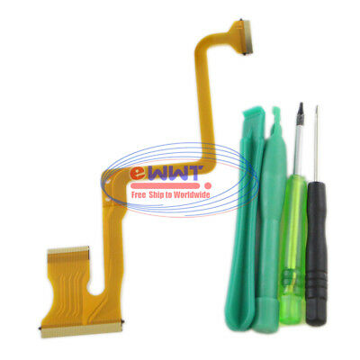 FREE SHIP for JVC GZ MS120 MS130 MH200 LCD Screen Ribbon Flex Cable+Tool ZVFE081
