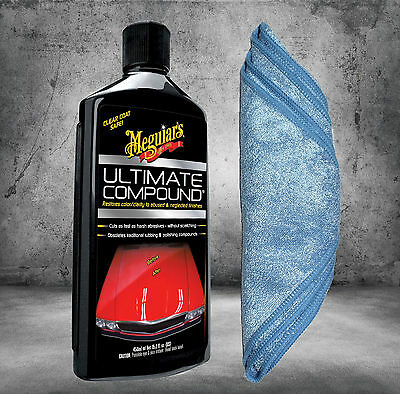 Meguiars Ultimate Compound G17216 450ml + Microfasertuch