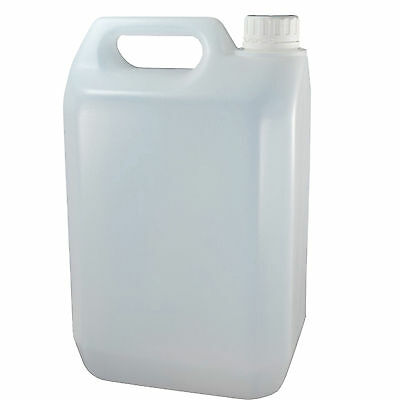 10 X 5 Litre 5L New Plastic Bottle Jerry Can Empty Water Container Carrier