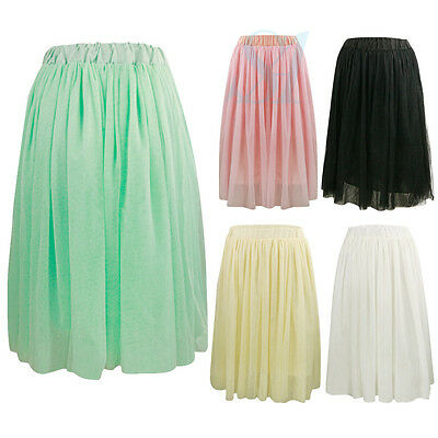 Women Girl  Ball Gown Prom Adults Tutu Dress Fancy Skirt Six Layers tulle Skirts