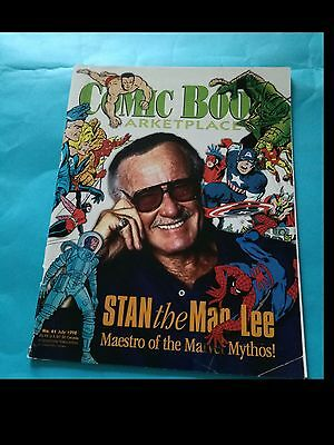 COMIC BOOK ARKETPLACE nr. 61 del 1998 (cover STAN LEE)