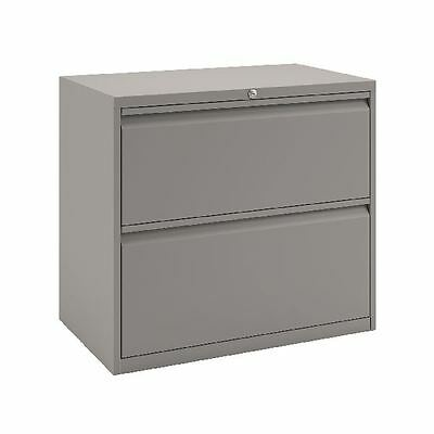 Bisley 2 Drawer Unit Goose Grey, W800 x D470 x H697mm [BY74760]
