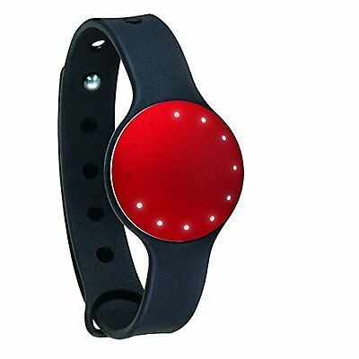 Brand New Misfit Shine Fitness & Sleep Monitor Activity Tracker      Red/black