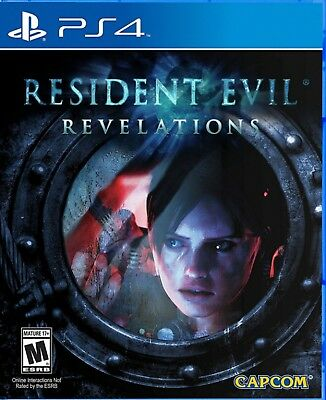 Resident Evil: Revelations US Version Chinese/English subtitle PS4 NEW