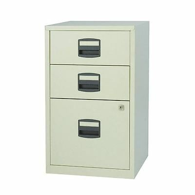 Bisley A4 Home Filer 3 Drawer Lockable Grey BY59269 [BY59269]
