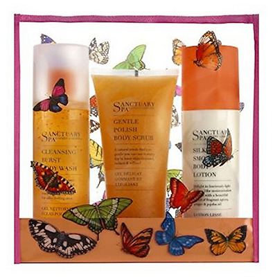 Sanctuary Spa All You Wished For Butterfly Washbag Gift Set Large BNIB