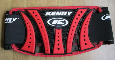 Kenny Youth Kids Childs Body Kidney Performance  Belt Accessories MX Red
