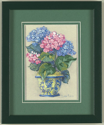 Dimensions - Mini Crewel Embroidery Kit - Colourful Hydrangea - D16051