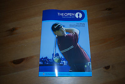 The Open at Royal St George's, 2003 Official Programme
