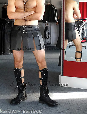 Greaves from leather Leather Armor Armor Gladiator Gladiator costume