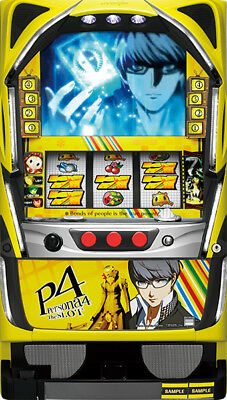 Persona 4 P4 Skill Stop Pachislo Pachi Slot Machine Japan F/S USED