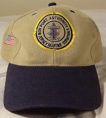 52aaa3aeb3c new jersey marine terminals port authority baseball cap hat Free Shipping