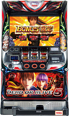 Dead or Alive 5 Skill Stop Pachislo Pachi Slot Machine Universal Japan F/S USED