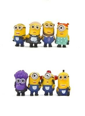 Cake Topper Figurine Figure Decorate Birthday Characters  MINIONS DESPICABLE ME