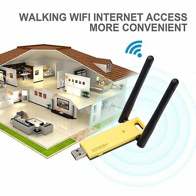 1200Mbps Wireless USB Adapter 802.11ac Dual Band 2.4/5GHz WiFi Network Dongle WS