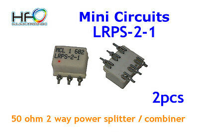 [2pcs] Mini Circuits LRPS-2-1 50 OHM 2 WAY POWER SPLITTER/COMBINER 5-500MHZ 1W