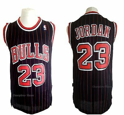 Nba Michael Jordan #23 Chicago Bulls Swingman Jersey Pinstripe Retro S-M-L-Xl