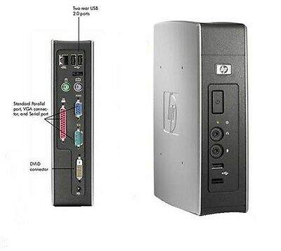 HP Thin Client T5540 Eden 1GHz 512MB 128MB Win CE 6.0 572385-001 + PSU