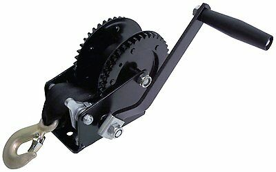 Attwood Dual Drive Winch 2000-Pound - NEW FREE SHIPPING
