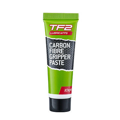 Weldtite TF2 Carbon Fibre Gripper Paste (Carbon Fiber) 10g pack Grease Lube New
